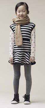 Moda infantil otoño-invierno 2010-2011, ropa para niñas de Phillip Lim