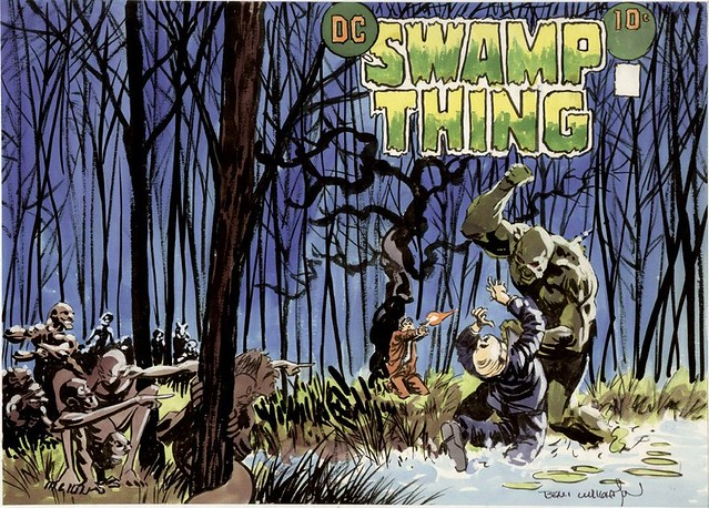 DC Special Series 1 1977 Swamp Thing prelim by Berni Wrightson