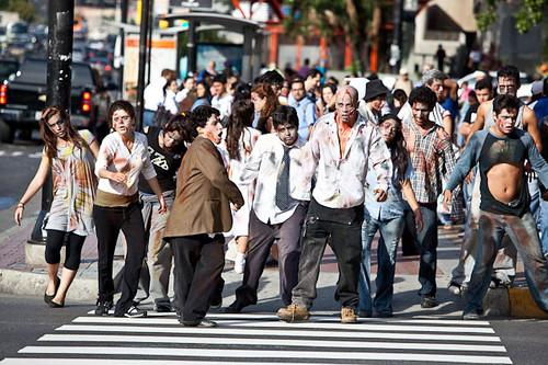 zombies walk