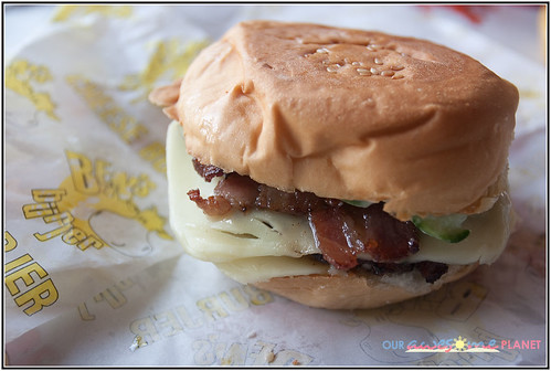 Ben's Burjer Double Cheeseburger with Bacon (P130)-1