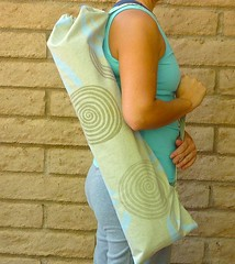 Spirals Yoga Mat Bag
