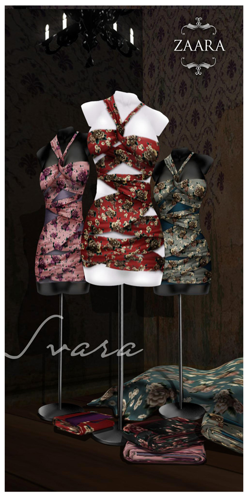 {Zaara} Svara minidress colors