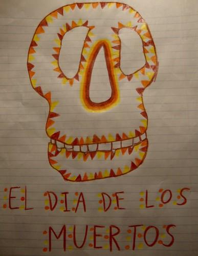 Magnet el Dia de Los Muertos  by trudeau