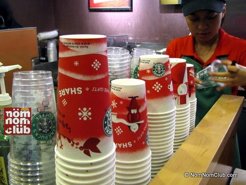 Starbucks Christmas Red Cups