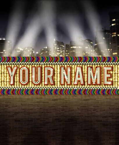 Your Name in Lights