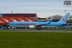 G-OBYF - 28208 - Thomson Airways - Boeing 767-304ER - Luton - 101022 - Steven Gray - IMG_4075