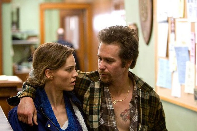 Hilary Swank and Sam Rockwell find a common 'Conviction'.