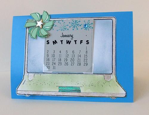 Calendar Card (2011)