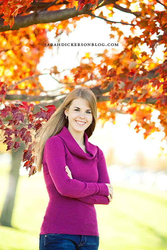 Briarcliff Village senior portrait photography, Kansas City