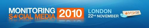 Monitoring Social Media 2010