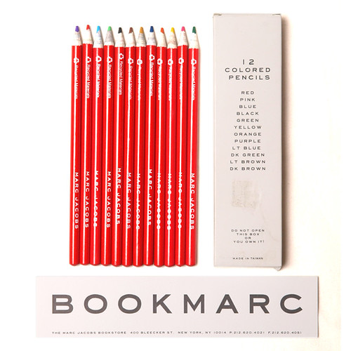 Marc Jacobs [BOOKMARC] / 12 Colored Pencils