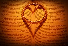 Immortal Love .... (aroon_kalandy) Tags: light orange india love beauty creativity book artistic awesome kerala romance greatshot concept calicut kozhikode sihloutte topshots beautifulshot symboloflove anawesomeshot sonydslra200 aroonkalandy bbangle