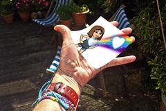 Selfie Sunday! (Jainbow) Tags: bitmoji app iphone jainbow garden hand selfie watch bracelets