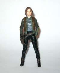 jyn erso - sergeant jyn erso - jedha star wars the black series 6 inch action figures 2016 red packaging the force awakens #22 rogue one m (tjparkside) Tags: sergeant jyn erso jedha rebel star wars sw tbs black series 6 six inch action figure figures hasbro 2016 rogue 1 one story alliance number 22 twenty two red package disney scarf cloak hood blaster holster jacket pistol weapon r1 packaging force awakens