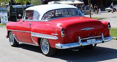 1953 Chevrolet Bel Air (crusaderstgeorge) Tags: crusaderstgeorge cars classiccars 1953chevroletbelair 1953 chevrolet bel air belair redcars red redandwhite chrome cool americancars americanclassiccars arenawheels americancarsinsweden sweden sverige sandviken superb classy classicamericancars classics gävleborg göranssonarena