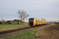 NSR 3444, IJsselmuiden, 28-01-2017 (Michael Postma) Tags: zwolle kampen ijsselmuiden kamperlijntje ns nsr dm90 3444