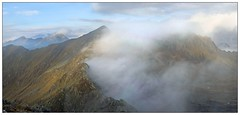 Mountains in the fog (Immagini di Montagna) Tags: mountains fog morning clouds sky september autumn mattino nebbia landscape montagna paysage lights paesaggio olympus mirrorless