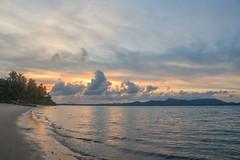 Sunset over the Andaman Sea (Merrillie) Tags: holidays resort landscape sunset water coconutisland phangngabay sea phuket beach andamansea dusk twilight island travel waterscape kohmaphrao thevillagecoconutisland clouds thailand
