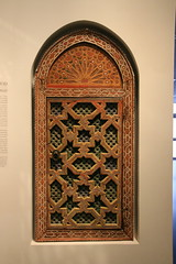 Synagogue window from India (Explored) (ejhrap) Tags: israelmusuem jerusalem israel museum jewelry kadavumbagam synagogue window cochin india wood wooden carving dwwg