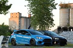IMG_8956 (Chazz7007) Tags: cars fordfocus fordfocusrs rs fast blue black blueblack fastcars turbo turbocars 70d