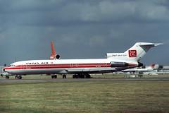 TS-JHU Boeing 727-2H3 Tunis Air (pslg05896) Tags: tsjhu boeing727 tunisair lhr egll london heathrow