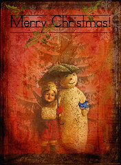 Happy Holidays All! (bananajode) Tags: photoshop textures playingwithbrushes theawardtree amazingeyecatcher skeletalmess artisticphotoworks joessistah