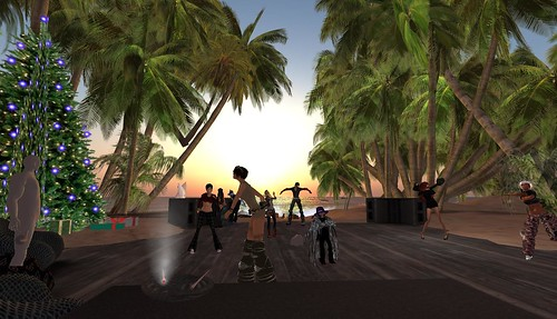 bassline island party in second life