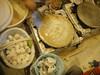 خبز رقاق - Bread biscuit (Sarah Wkh) Tags: food cheese bread with biscuit qatar خبز سوق qatari واقف بيض جبنة شعبية أكلة رقاق قطريةtraditional