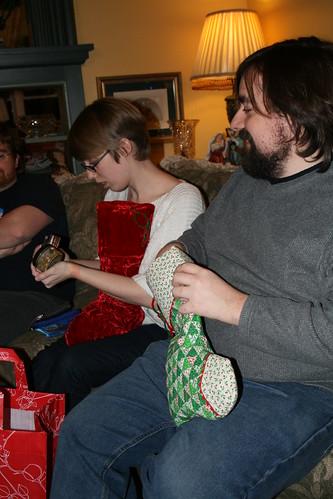 stockings on Christmas Eve