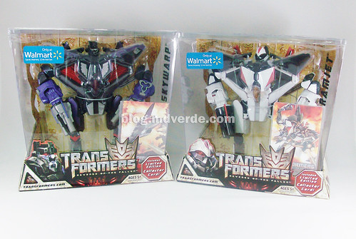Transformers Ramjet & Skywarp RotF Voyager - caja