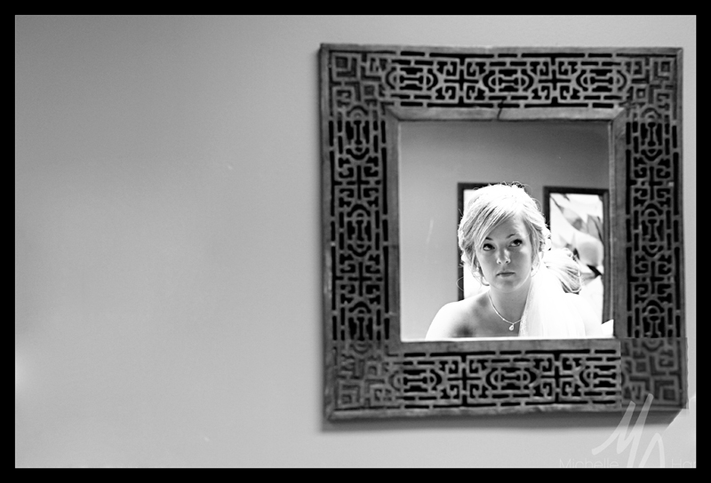 Corinne Getting Ready 1 bw blog