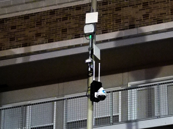 security camera 6th & Race