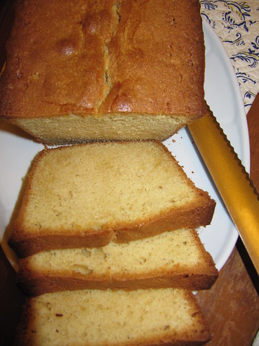 brown butter pound cake