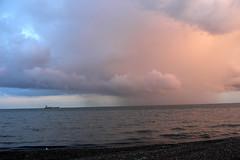 #0694 Skagen (Fjordblick) Tags: ocean sunset clouds denmark twilight meer wasser sonnenuntergang dusk herbst natur wolken dnemark danmark soe skagen jutland jylland jtland dblringexcellence tplringexcellence bestmagicofnature
