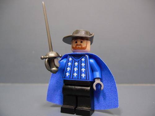 Musketeer custom minifig