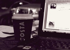 ~ (` .) Tags: b costa 3 coffee photography bahrain cafe sweet outdoor laptop study honey area msn studying 2010 diplomatic a7bk messemger