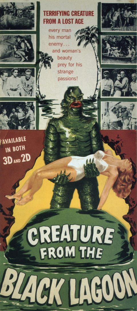 Creature from the Black Lagoon - long poster