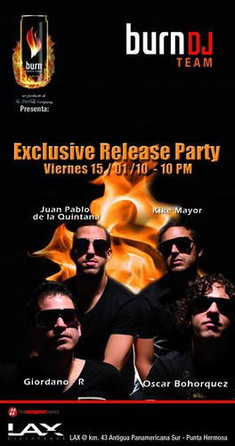 Exclusive Release Party - Discoteca Lax