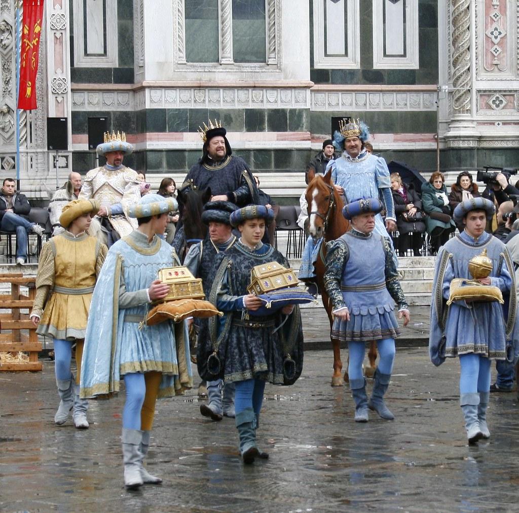 Epiphany Duomo Cavalcade Magi