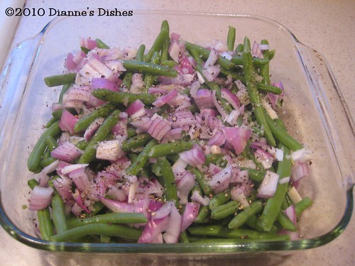 Baked Green Beans: Ready to Bake
