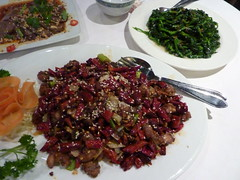 Covered with chiles...重庆辣子鸡