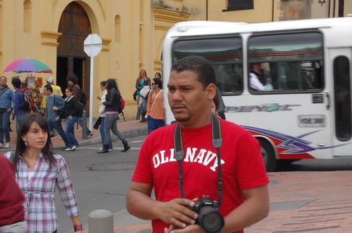 Reynaldo Brito en Santa Fe de Bogota