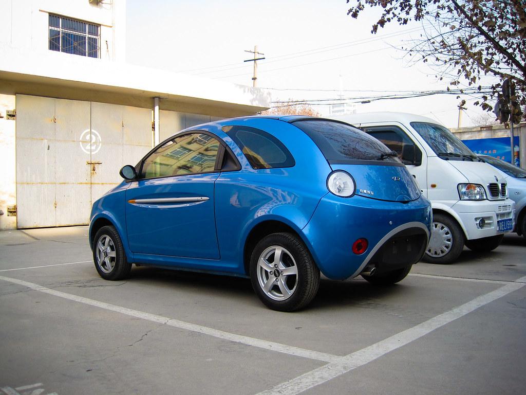 Chery QQ Sport Blue