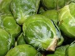 Brussel Sprouts (wyldanthem) Tags: food macro green wet vegetable fresh edible brusselsprouts tcf 15challenges 15challengeswinner thechallengefactory thechallengefactorywinner tcfwinner