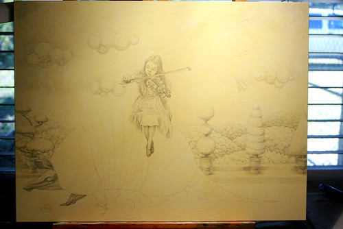 WIP - Armadillo Dream (Pencils 2)