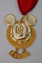 Disney Marathon 2010 Medal