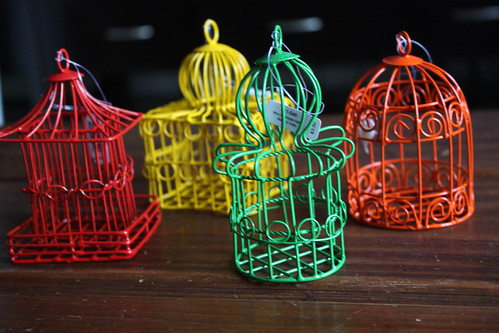 Bird Cage Ornaments