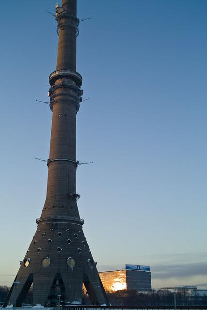 "Moscow, tv tower ""ostankino"""