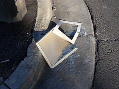 smashed frame