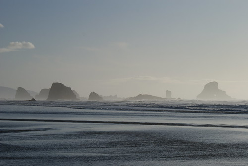 The haystacks from that other beach at Ecola State Park